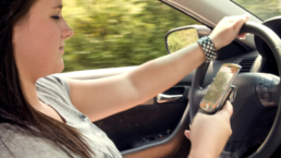 mobile phone use while driving law uk